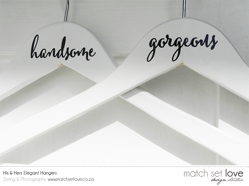 His & Hers Elegant Hangers