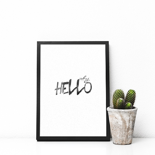 Poster Why Hello 1