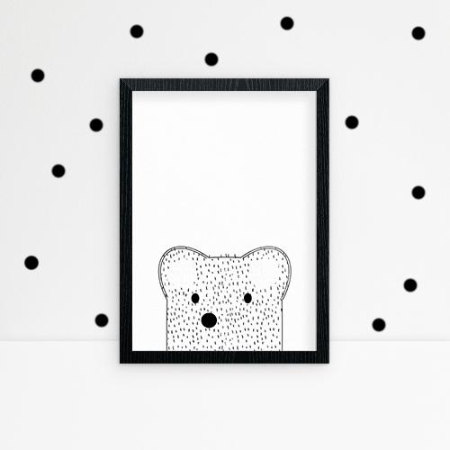 bear-and-black-polka-dot-combo