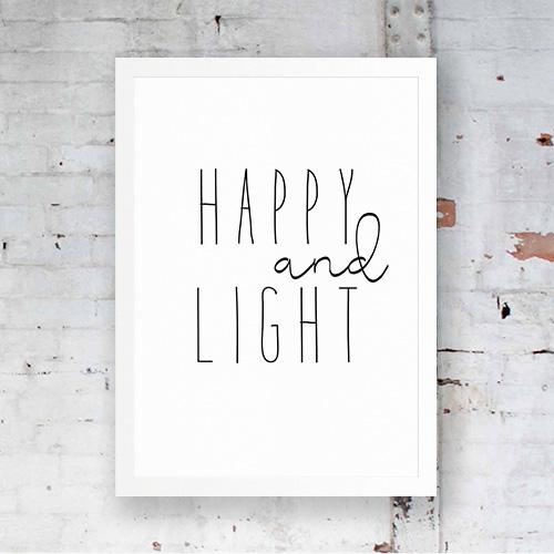 1 Happy and Light