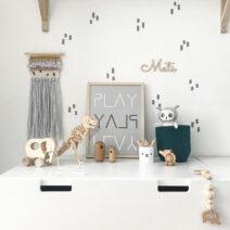 giraffe wall decal