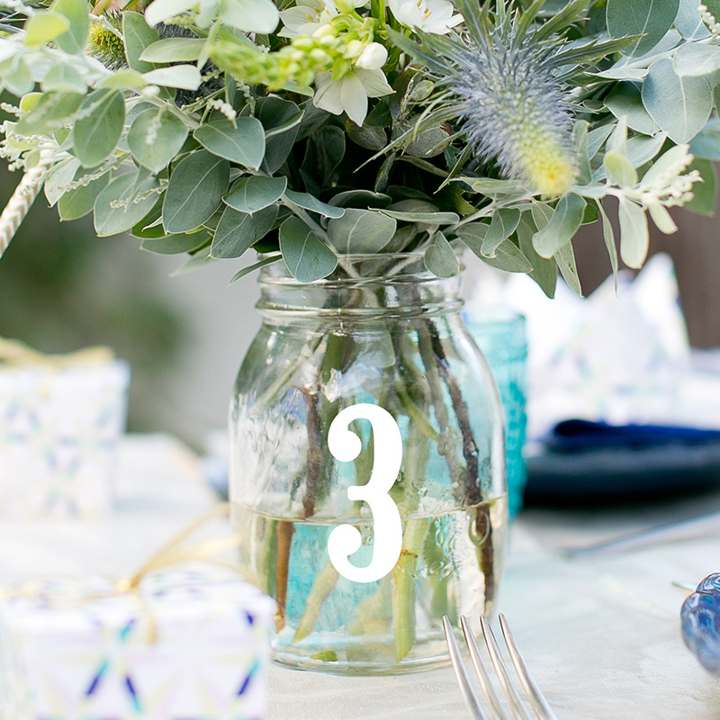 LR Large Table Numbers Font 1 3