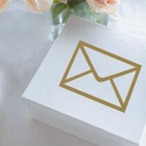 Wedding Gift Box Decals