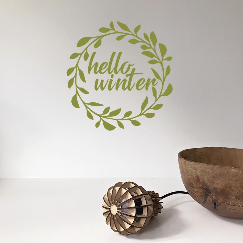 LR hello winter 2 olive green