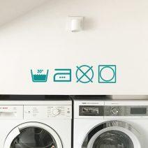 Washing Instructions Symbols