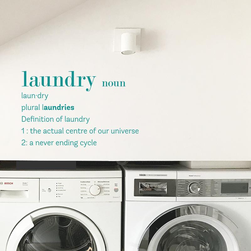Laundry noun turquoise 1