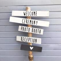 weddings signs