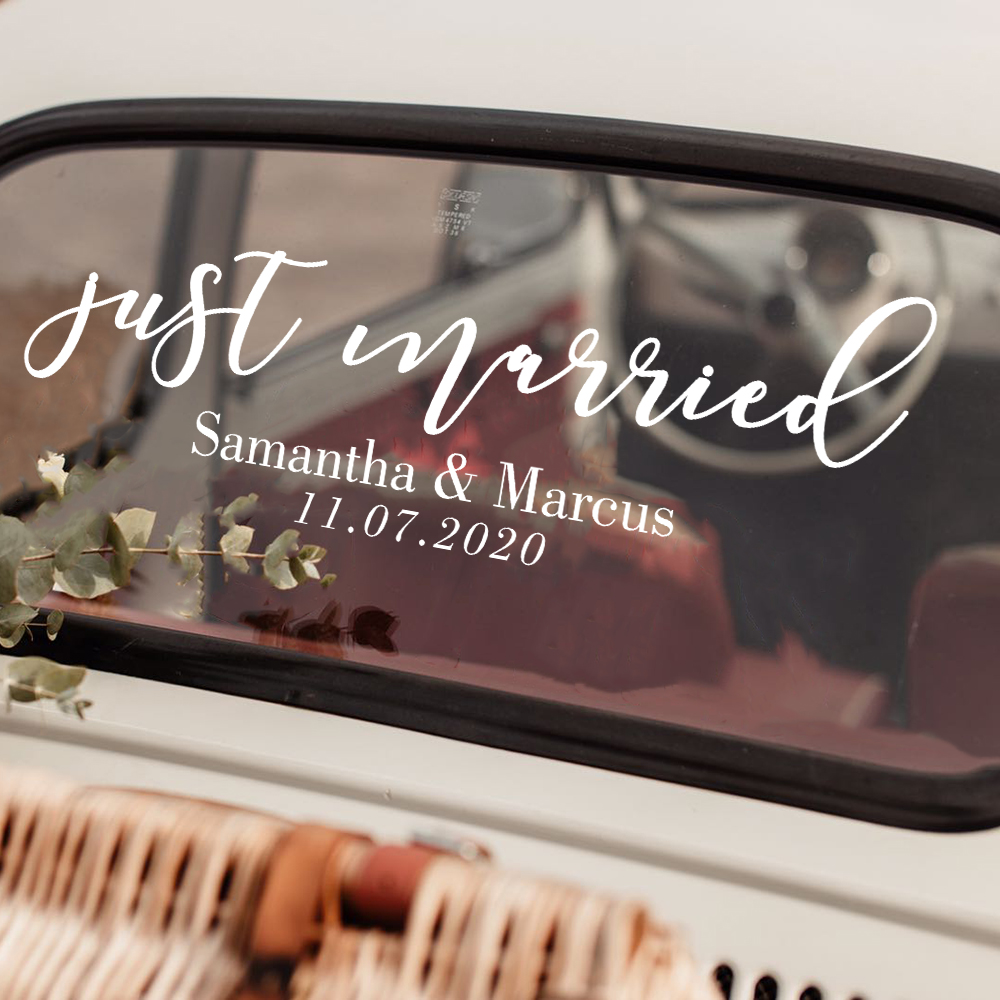 English Just Married 1