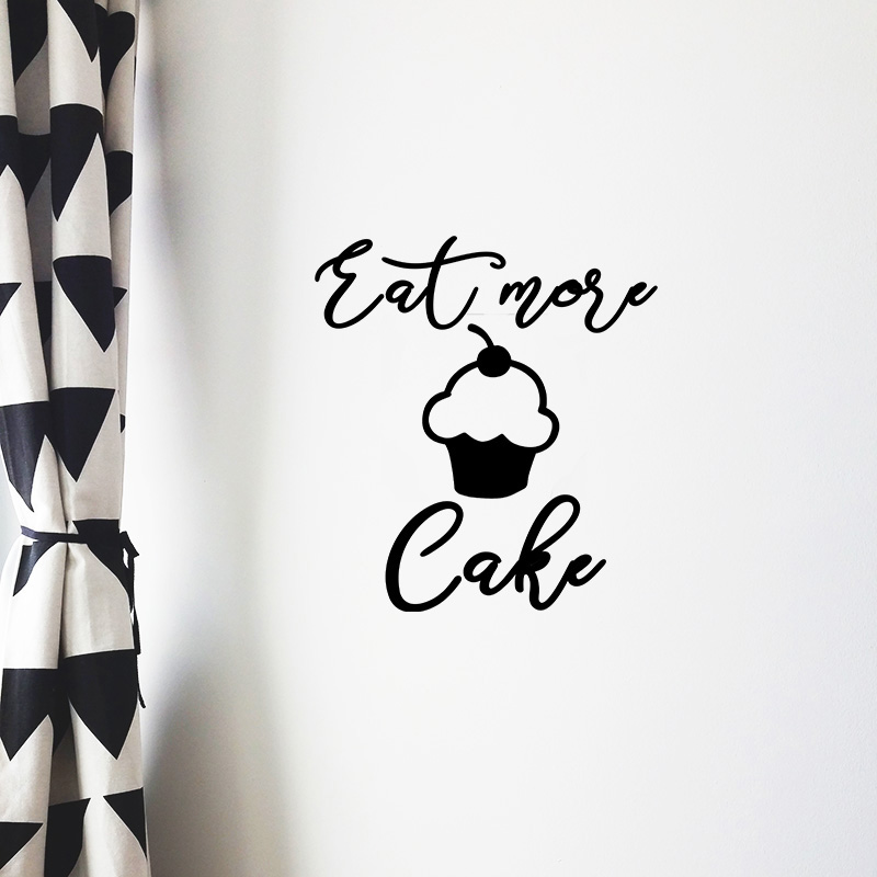 eat more cake 1 black